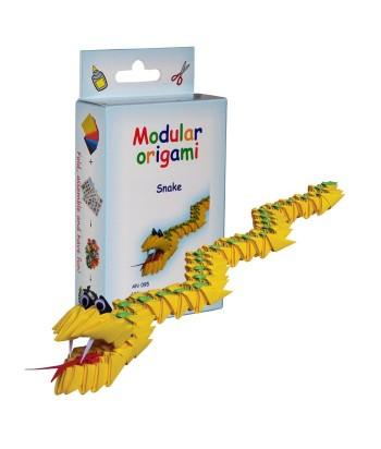 Modulinis origami GYVATĖ