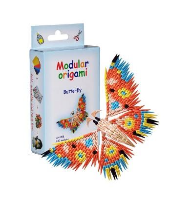 Modulinis origami DRUGELIS