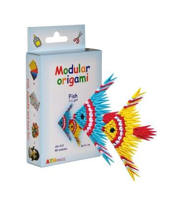 Modulinis origami ŽUVYS