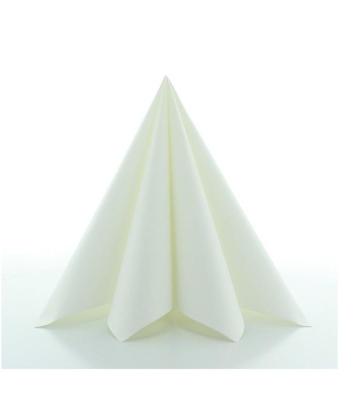 Servetėlės Linclass® Airlaid WHITE 40x40cm (12vnt)