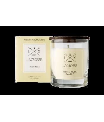 Lacrosse WHITE MUSK natūralaus sojų vaško žvakė 200g
