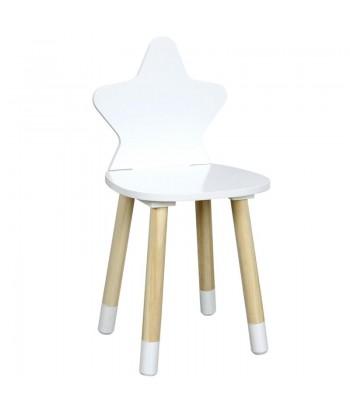 Vaikiška kėdutė WHITE STAR 28x54cm