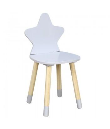 Vaikiška kėdutė GREY STAR 28x54cm