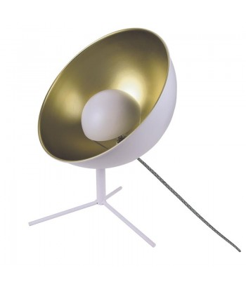 Balta stalinė lempa CINEMA 45cm