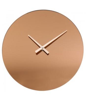 Minimalistinis vario spalvos sieninis laikrodis SMOKY COPPER 30cm