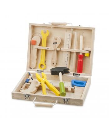 Vaikiškas įrankių rinkinys lagaminėlyje