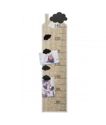 Medinė ūgio matuoklė su laikikliais nuotraukoms 78.3cm