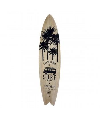 Dekoratyvinė banglentė CALIFORNIA SURF BLACK 110cm