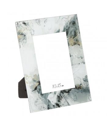 Stiklinis nuotraukų rėmelis MARBLE 10x15cm