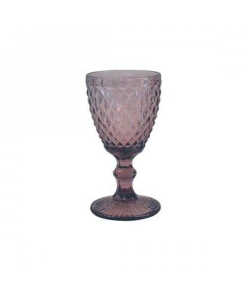 Vyno taurės DIAMOND LILAS 340ml (6vnt)