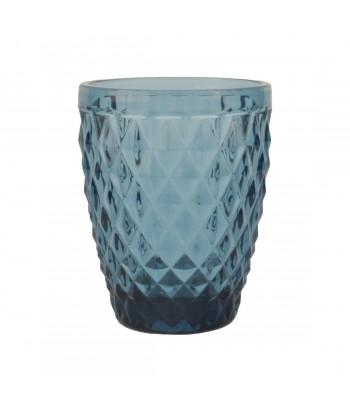 Vandens stiklinės DIAMOND BLEU 280ml (6vnt)