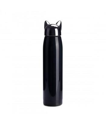 Tamsiai mėlyna nerūdijančio plieno termo gertuvė CAT 320ml