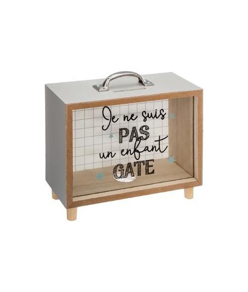 """Taupyklė/medinis lagaminėlis """"Vaikų rankpinigiai"""""""