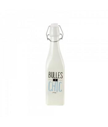 Stiklinis butelis limonadui 500ml. 3 skirtingi dizainai; baltas, žalias, mėlynas